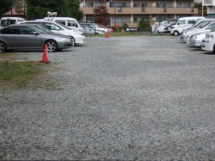 駐車場に敷設された再生砕石 環境 / 再生砕石問題 再生砕石のアスベスト混入問題 1.再生砕石と